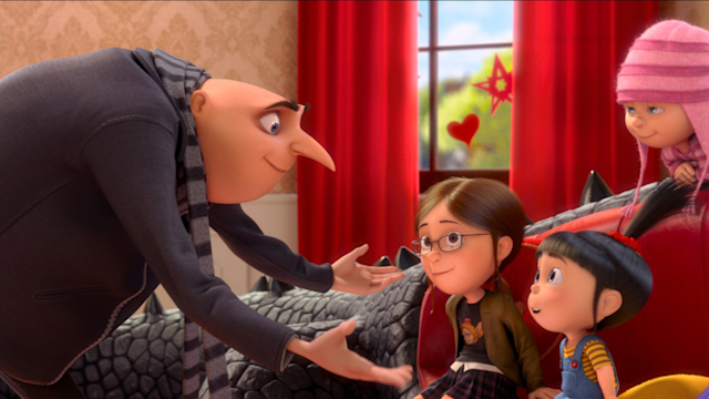 Steve Carell and Kristen Wiig on Despicable Me2