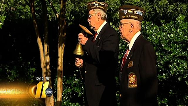 Chapel Hill Memorial Day ceremony