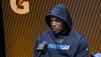 Cam Newton Walks Out of Super Bowl Press Conference