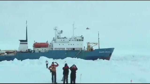 Rescue Imminent for Ship Stranded in Antarctic
