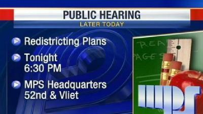 Milwaukee Public Schools Hold Meeting On Redistricting