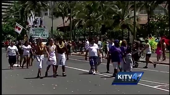 The 24th annual Honolulu Pride Parade!