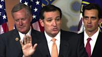 "Cruz: ""Yes,"" I will filibuster to defund Obamacare if necessary"