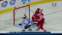 Ryan Suter feeds Pominville for the goal