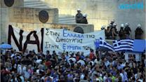 Thousands Rally in Greece to Support the European Union