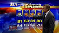 Meteorologist Bob Turk Has Your Weekend Forecast
