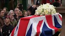 Londres rinde tributo a Margaret Thatcher con honores militares