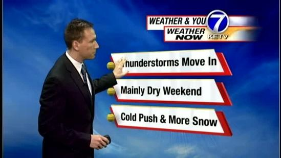 Matt's Friday Night Forecast