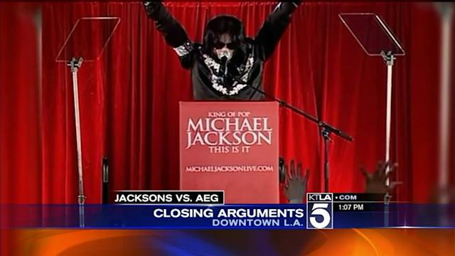 Michael Jackson Trial Winds Down; AEG Team Gives Closing Arguments