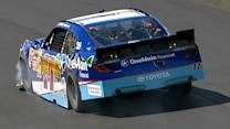 Loose car leaves Sadler in the wall