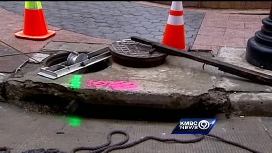 Crews peek underground for streetcar project