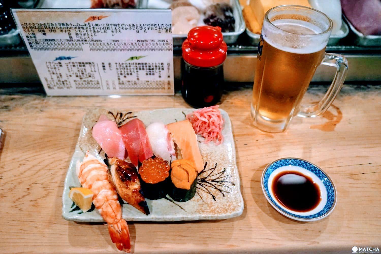地元の人と交流できる大阪「亀すし」【英語メニューあり】