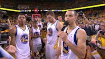 Warriors Thank Fans