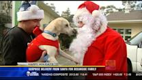 Surprise delivery from Santa for Oceanside family