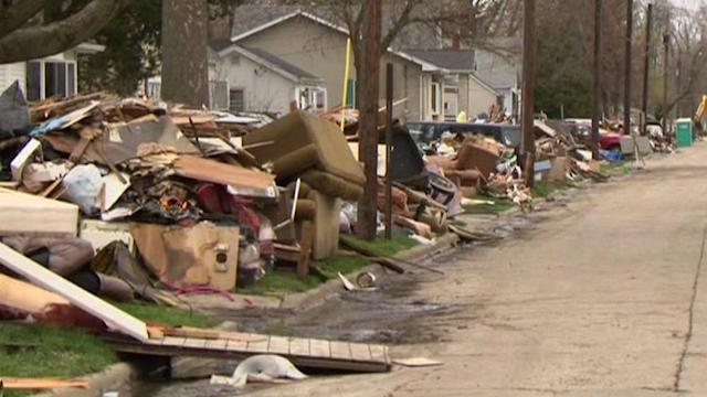 Marseilles flood damage among worst in Chicago area