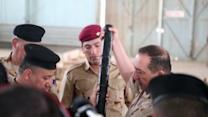 Iraqi Soldiers Vowing to Fight Back With New Weapons Arriving From the United States
