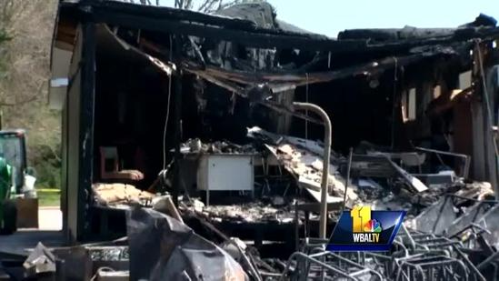 Fire causes Catonsville school to close