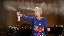 Actress Jane Lynch Reveals the #12Stinks of Christmas