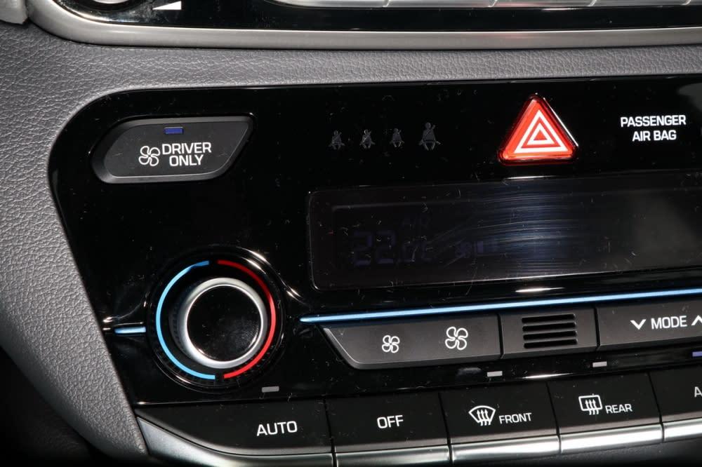 為了增進節能表現,冷氣單人模式將關閉副駕與後座出風口,僅留駕駛人前方出風,是相當少見的獨特設計