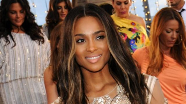 Backstage at the VMAs With Ciara