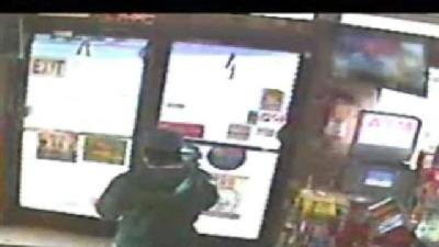 Store Robbery Caught On Camera