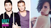 Demi Lovato Topless In Cosmo Spread - Liam Defends Zayn Real Music Diss