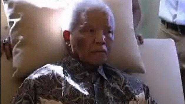 Mandela back in hospital