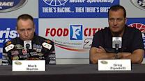 Martin, Zipadelli talk substituting for Stewart