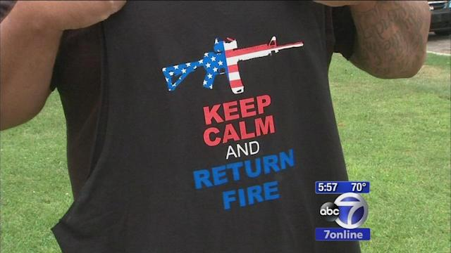 New Jersey Six Flags park offers VIP visit to veteran denied access because of T-shirt