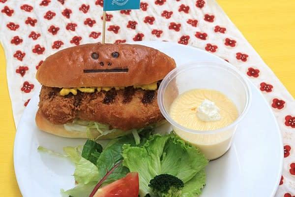 Japan Rail Café提供多樣輕食餐點,此為CRAFTHOLIC SPECIAL。