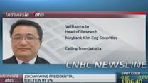 Indonesian election positive for equities: Pro