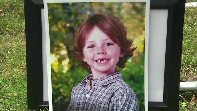 First Time Back To School Without Their Son For Newtown Family