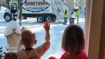 Garbage Men Help Kid With Cancer
