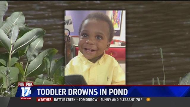 Toddler Drowns In Michigan Pond