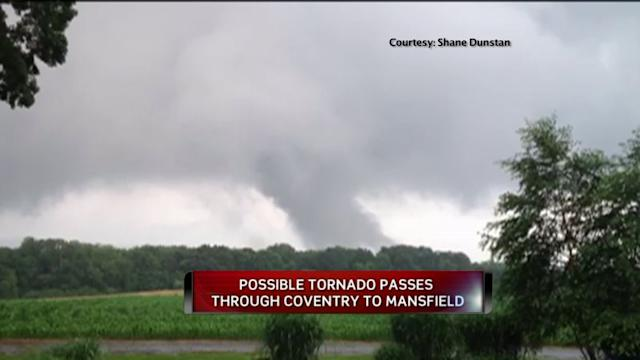 National Weather Service To Investigate Possible Tornado In Tolland County