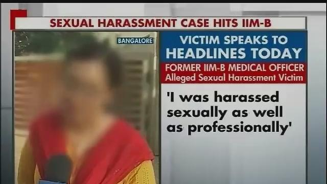 IIM-B's chief administrative officer charged with sexual harassement