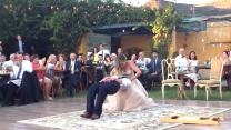 Magician Groom Has A Mind-Blowing First Dance With His Bride