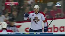 Jimmy Hayes gets his first as a Panther