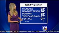 Evelyn Taft's Weather Forecast (July 14)