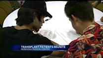 Families gather for transplant reunion