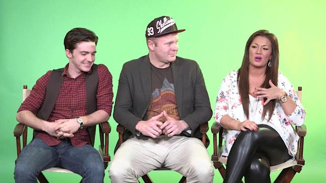 Stars Drake Bell And Dallas Lovato Talk About Their New Animated Film Birds Of Paradise With Director Mychal Simka.