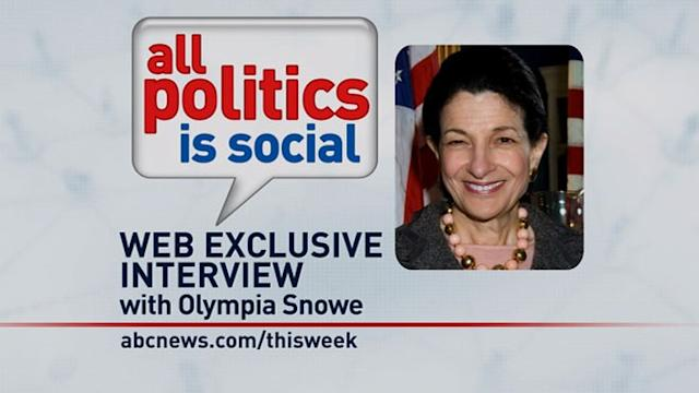 'This Week' Web Extra: Olympia Snowe