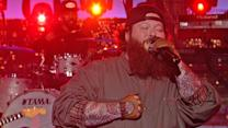 "Action Bronson: ""Baby Blue"" - David Letterman"