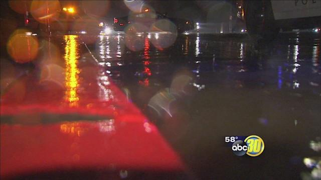 First seasonal rain storm causes big problems