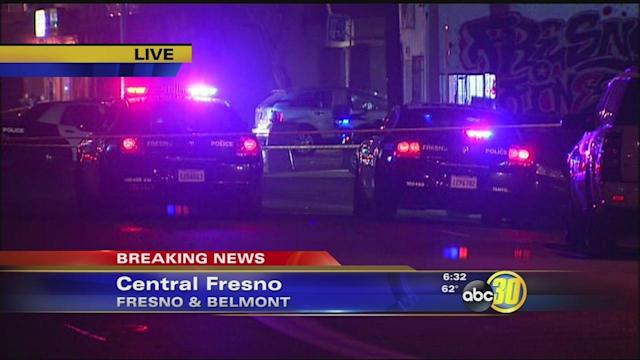Suspect opened fire on police in Central Fresno
