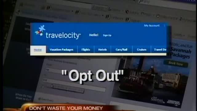 Travelocity opt out