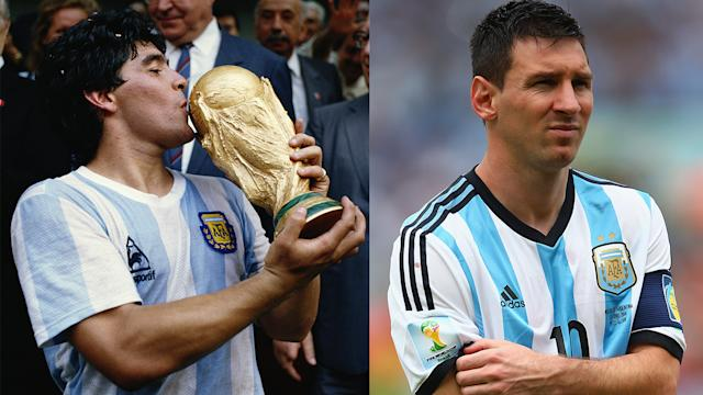 Is Messi building a legacy equal to Maradona's?