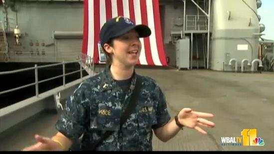 U.S.S. Fort McHenry partakes in Sailabration