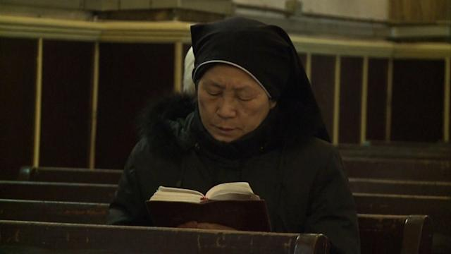 New pope faces old problem of divided China Church