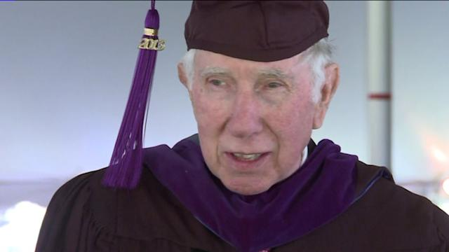 77-Year-Old Graduates From Law School